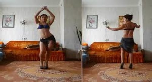 Arsız dans yapan Ilkay