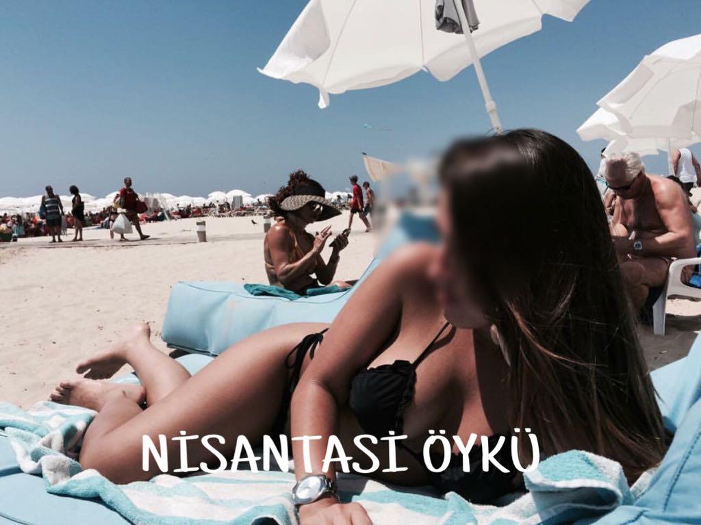 Seksi otelde buluşan eskort Nihan